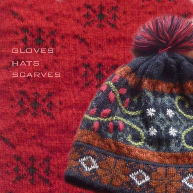 Women's Knitwear: 2014-2015 accessories, gloves, hats, scarves