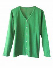 PFL Premium cardigan Luana classic, green