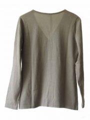 PFL Premium cardigan Luana classic, gray