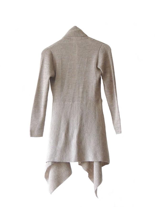 PFL Premium Losvallend vest model Gelena in 100% Baby Alpaca