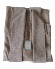 Classic fine knitted loose fit cardigan in luxurious ultra soft baby alpaca, beige