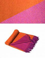 PFL Throw Anita collection 010-91-21-06 alpaca-wool-acrylic blend