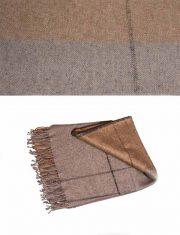 Throw 010-91-21-11 alpaca-wool-acrylic blend