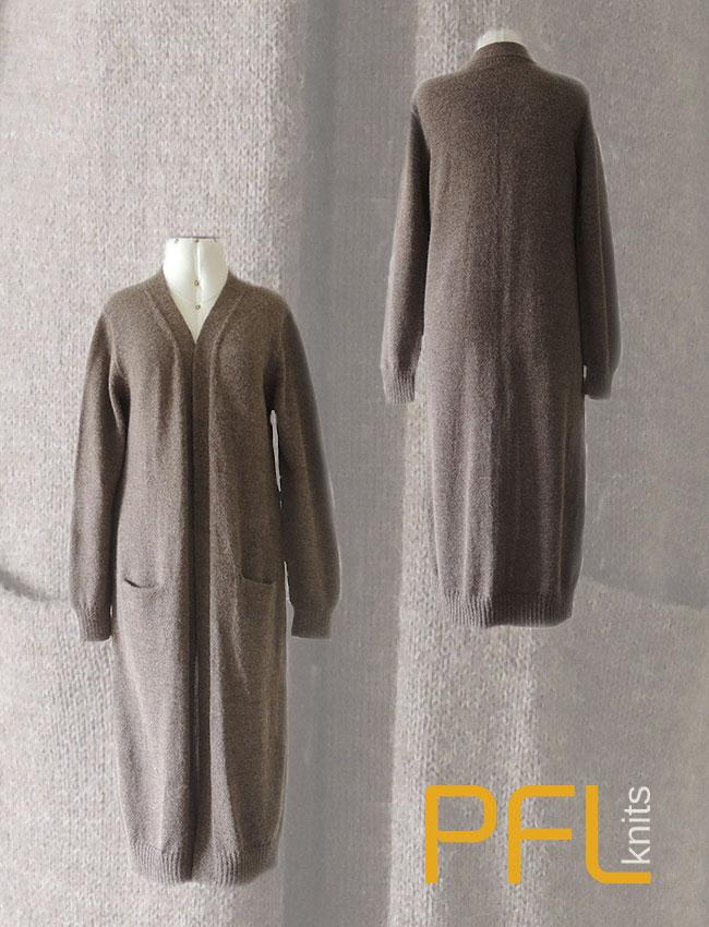 PFL knits long cardigan 001-01-2101-01