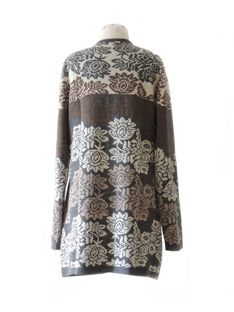 cardigan Georgina grey-multi