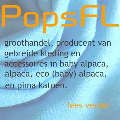 PopsFL groothandel in alpaca en baby alpaca kleding en accessoires