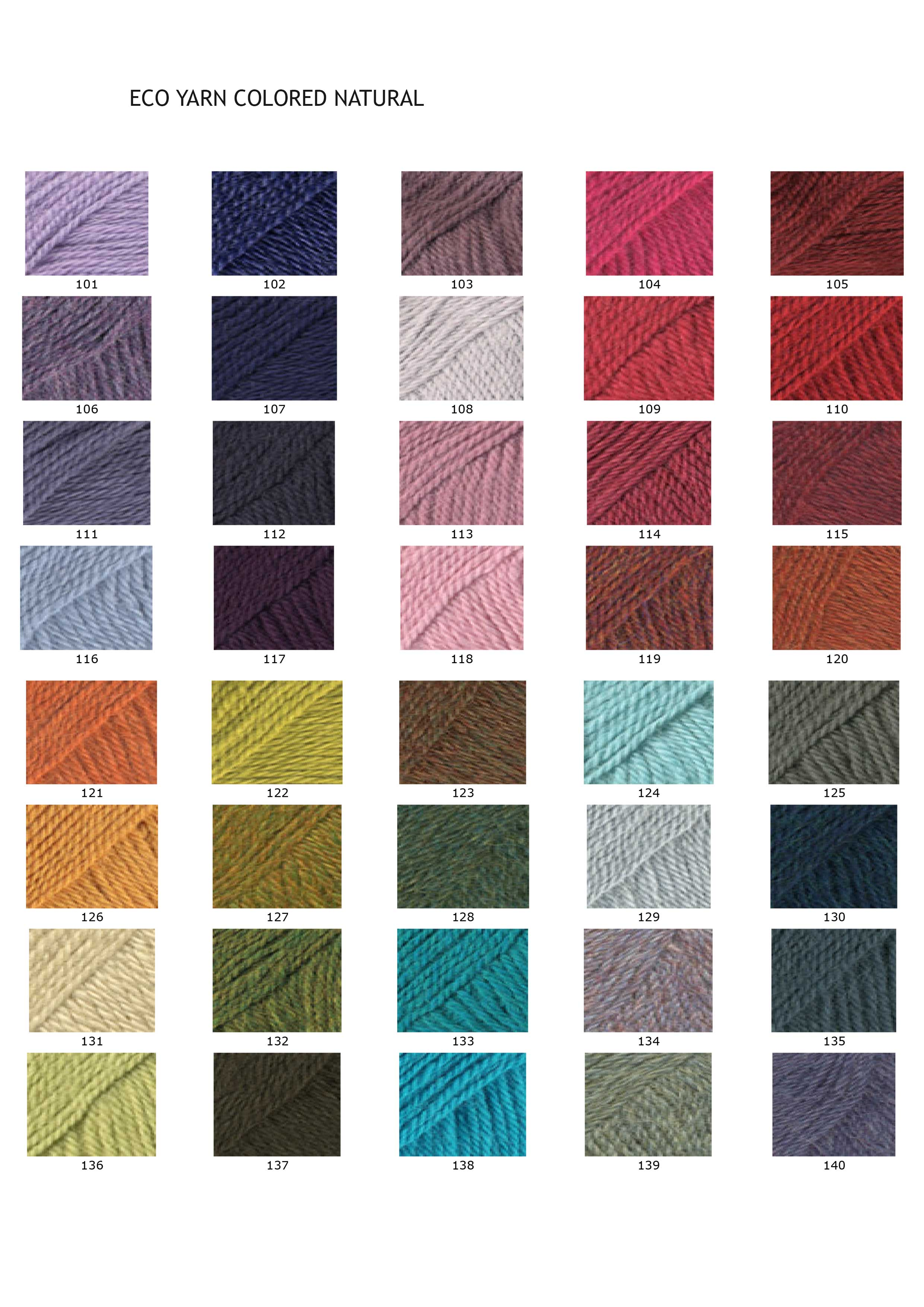 PopsFL eco (baby) alpaca yarn colored