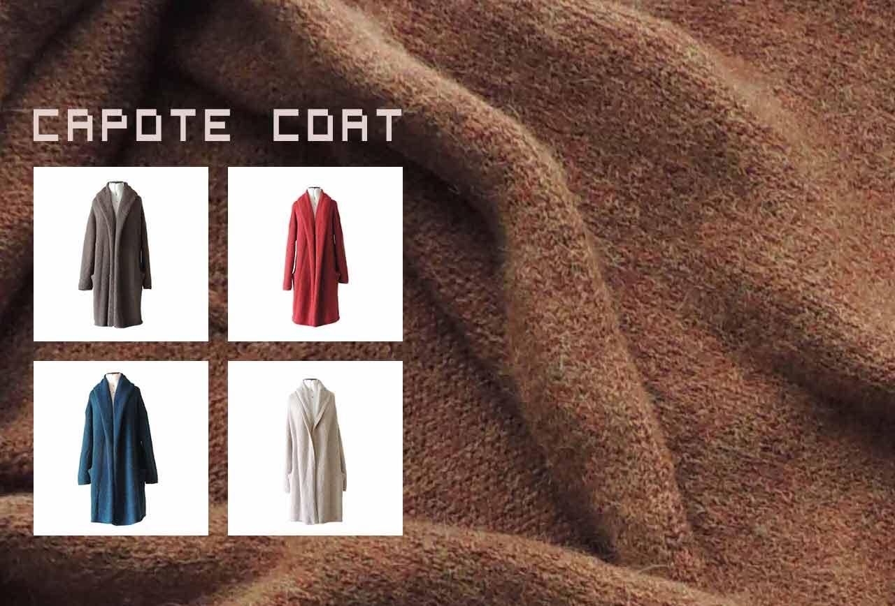 Wholesale capote coat alpaca cardigan oversized alpaca cardigan