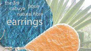 oorhangers in cabuya,natuurlijke oorhangers,bijouterie oorbellen