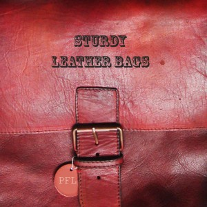 Sturdy bags in 100% leather.
