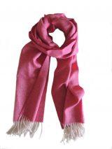 001-01-2001-XX Sjaals 100% baby alpaca 180 cm x 30 cm met visgraat motief