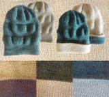 001-31-2001 / 001-31-2001 omkeerbare mutsen in baby alpaca/zijde in diverse kleuren