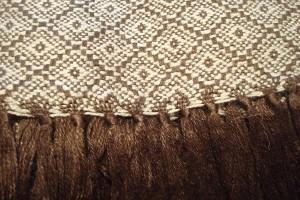 throw 010-90-1006 alpaca-cotton blend
