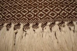 throw 010-90-1011 alpaca-cotton blend