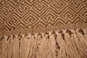 throw 010-90-1017 alpaca-cotton blend