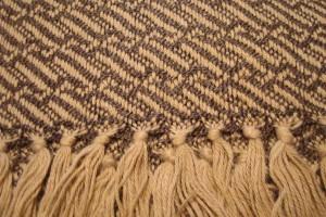 throw 010-90-1019 alpaca-cotton blend