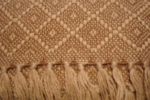 throw 010-90-1021 alpaca-cotton blend
