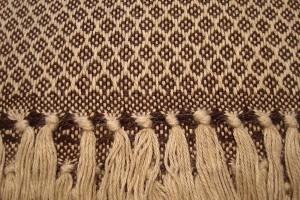 throw 010-90-1026 alpaca-cotton blend