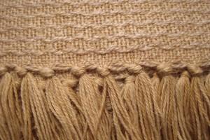 throw 010-90-1030 alpaca-cotton blend