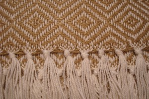 throw 010-90-1034 alpaca-cotton blend