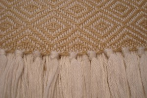 throw 010-90-1036 alpaca-cotton blend