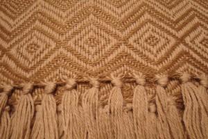 throw 010-90-1045 alpaca-cotton blend