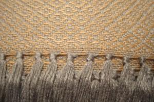 throw 010-90-1051 alpaca-cotton blend
