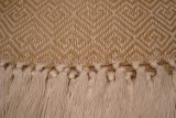 throw 010-90-1057 alpaca-cotton blend