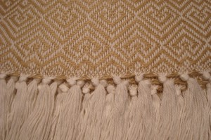 throw 010-90-1057 alpaca-cotton blend