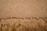 throw 010-90-1058 alpaca-cotton blend