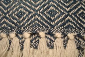 throw 010-90-1062 alpaca-cotton blend