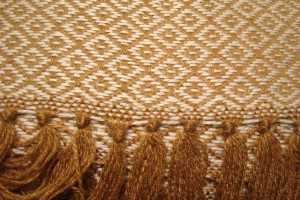 throw 010-90-1066 alpaca-cotton blend