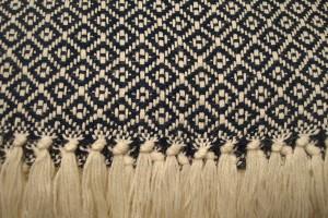 throw 010-90-1068 alpaca-cotton blend