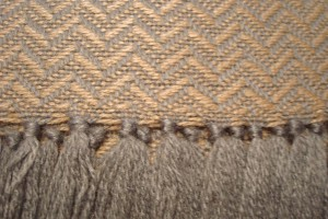 throw 010-90-1070 alpaca-cotton blend