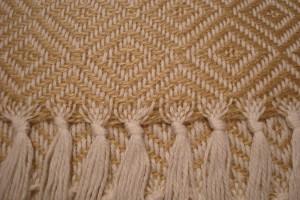 throw 010-90-1071 alpaca-cotton blend