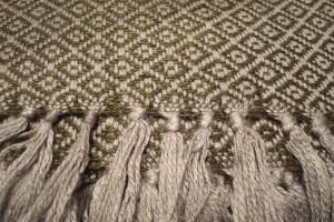throw 010-90-1073 alpaca-cotton blend