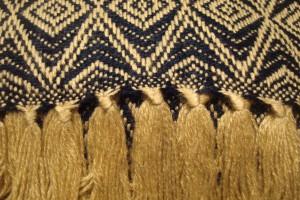 throw 010-90-1074 alpaca-cotton blend