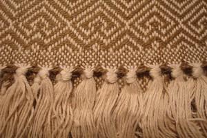throw 010-90-1081 alpaca-cotton blend