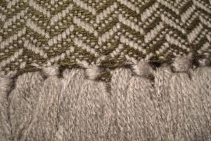 throw 010-90-1086 alpaca-cotton blend