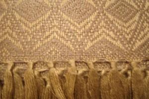 throw 010-90-1093 alpaca-cotton blend