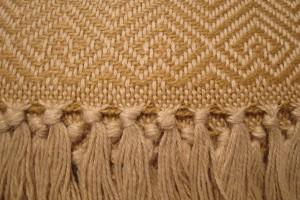 throw 010-90-1095 alpaca-cotton blend