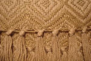 throw 010-90-1097 alpaca-cotton blend