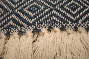 throw 010-90-1098 alpaca-cotton blend