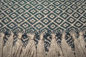 throw 010-90-1101 alpaca-cotton blend