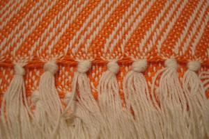 throw 010-90-1117 alpaca-cotton blend