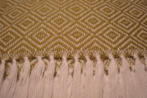 throw 010-90-1121 alpaca-cotton blend