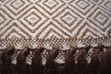 throw 010-90-1123 alpaca-cotton blend