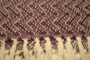 throw 010-90-1124 alpaca-cotton blend