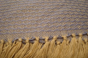 throw 010-90-1125 alpaca-cotton blend