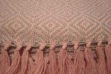 throw 010-90-1126 alpaca-cotton blend